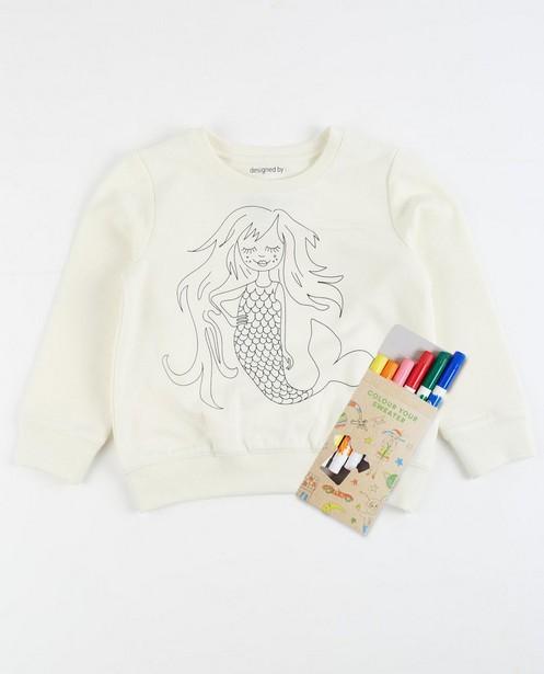 Sweater met zeemeermin - null - JBC