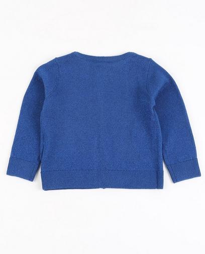 Gilet en tricot ajouré