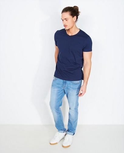 T-shirt bleu foncé