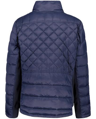 Nachtblauwe jas