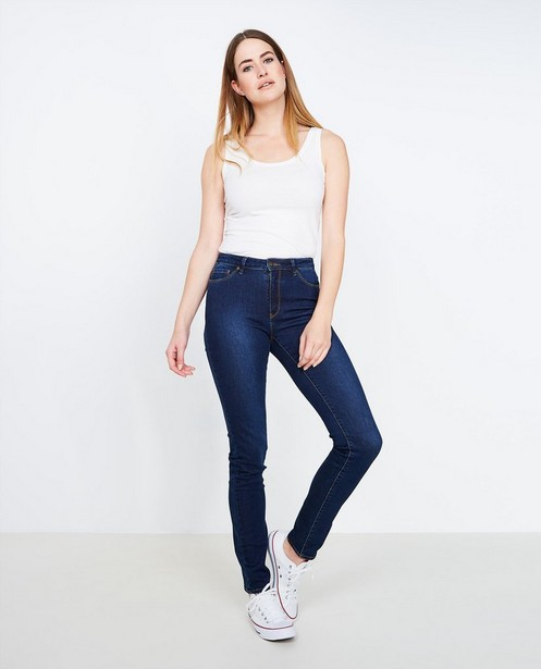 Jeans - BLM - Donkerblauwe slim jeans