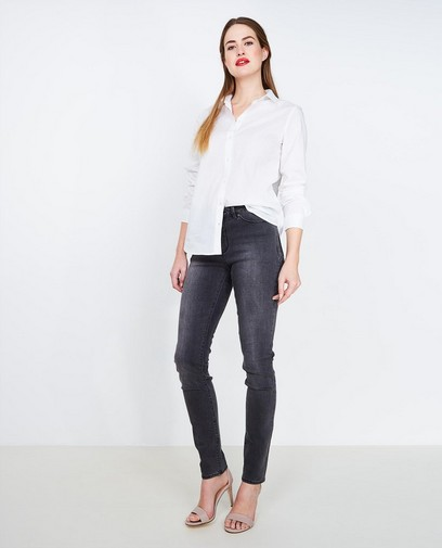 Donkerblauwe slim jeans