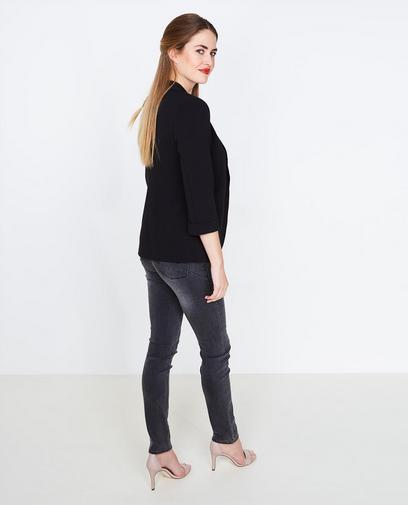 Zwarte basic blazer