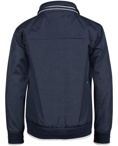 Marineblauwe jas