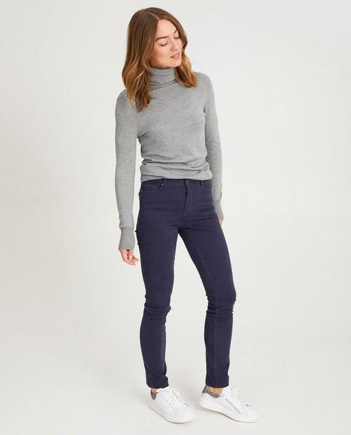Nachtblauwe jeans FENNA - in nachtblauw - JBC
