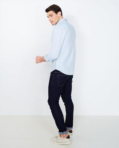 Lichtblauw hemd