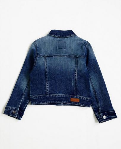 Donkerblauw jeansjasje