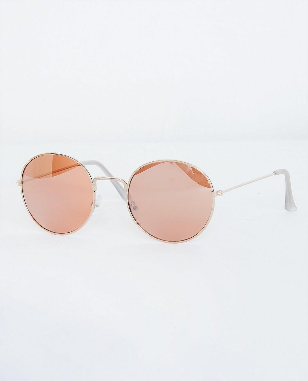Retro zonnebril - met ronde glazen - JBC