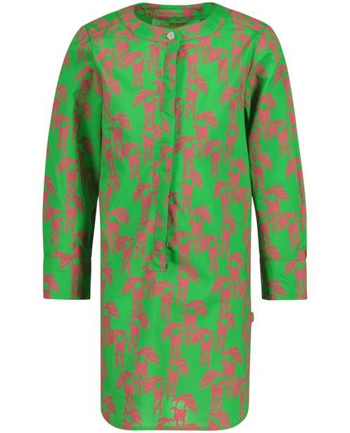 Kleider - Knallgrün - Grasgrünes Hemdkleid
