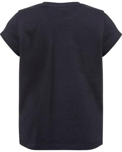 Donkerblauw swipe T-shirt