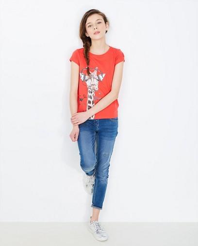 Feuerrotes T-Shirt