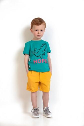 Kanariengelbe Shorts