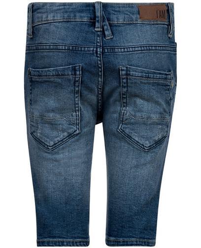 Verwaschene Jeans-Shorts