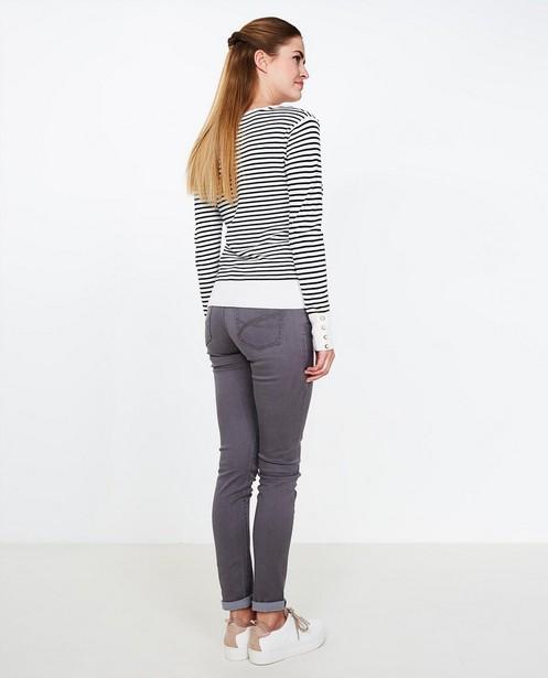 Jeans - Grijze skinny jeans