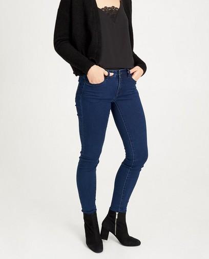 Donkerblauwe skinny jeans FAYE