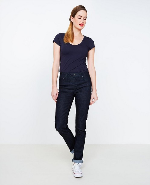 Nachtblauwe jeans GINGER - fitted straight - JBC
