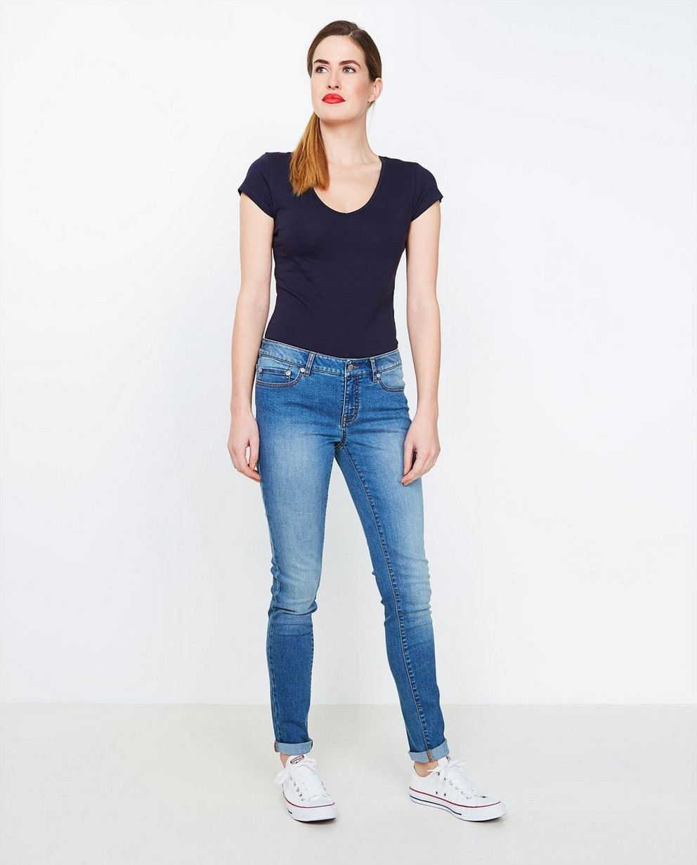Jeans - aqua - Blauwe skinny jeans
