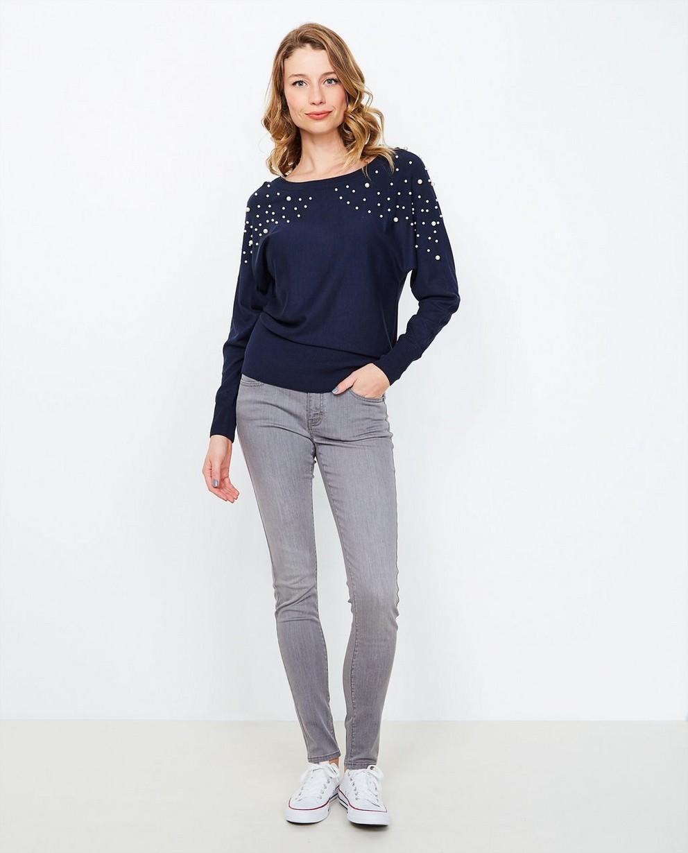 Jeans - grey - Grijze skinny jeans