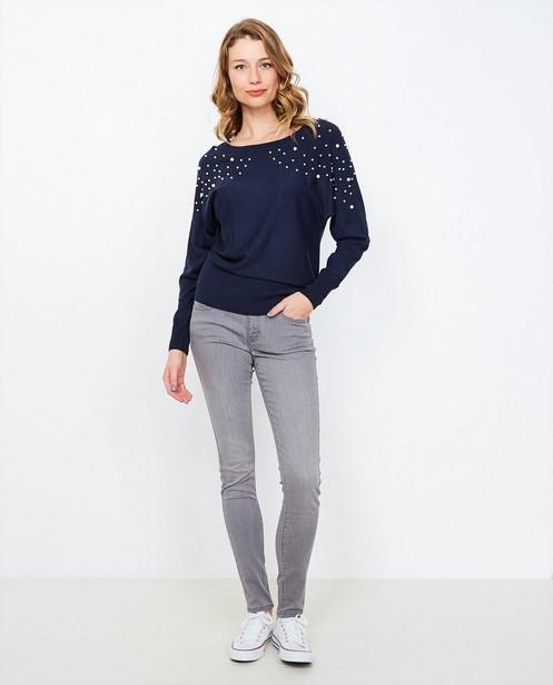 Jeans - GSM - Grijze skinny jeans