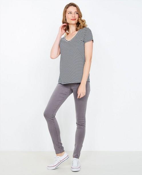 Grijze super skinny jeans - null - JBC