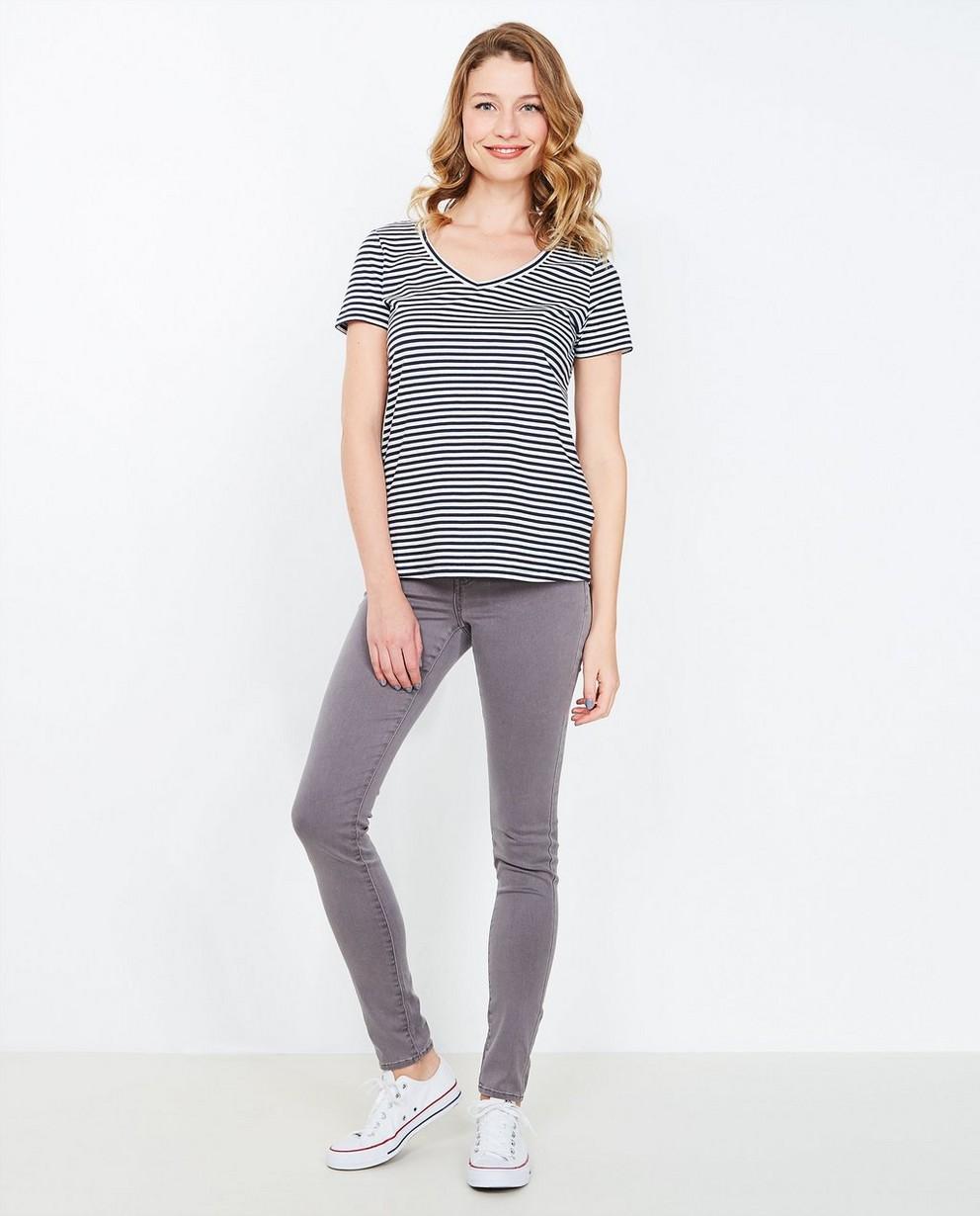 Jeans - GSM - Grijze super skinny jeans