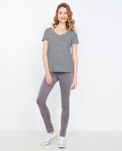 Grijze super skinny jeans