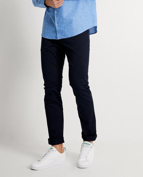 Pantalons - navy - Pantalon slim fit SMITH