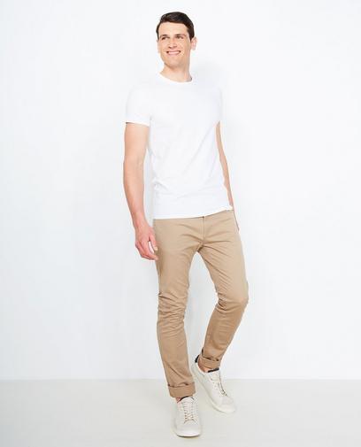 Basic slim fit broek