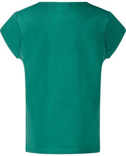 Groen T-shirt met glitter