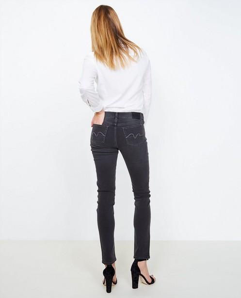 Jeans - ZWM - Zwarte slim jeans
