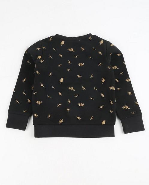 Sweater - Schwarz - Sweatshirt mit Glitter