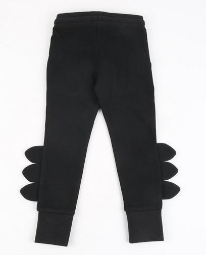 Zwarte sweatbroek