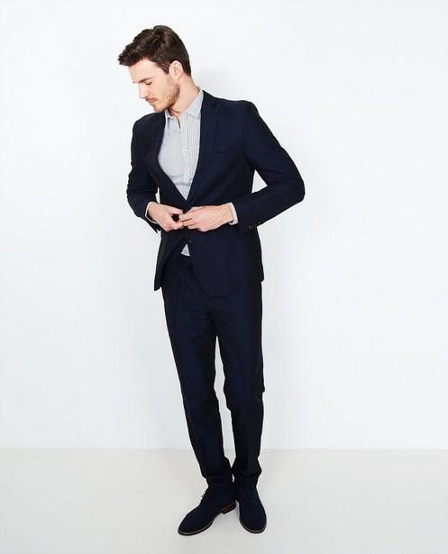 Nachtblauwe blazer - met jeanslook - JBC