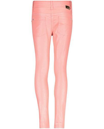 Koraalroze jeans