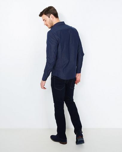 Nachtblauw hemd