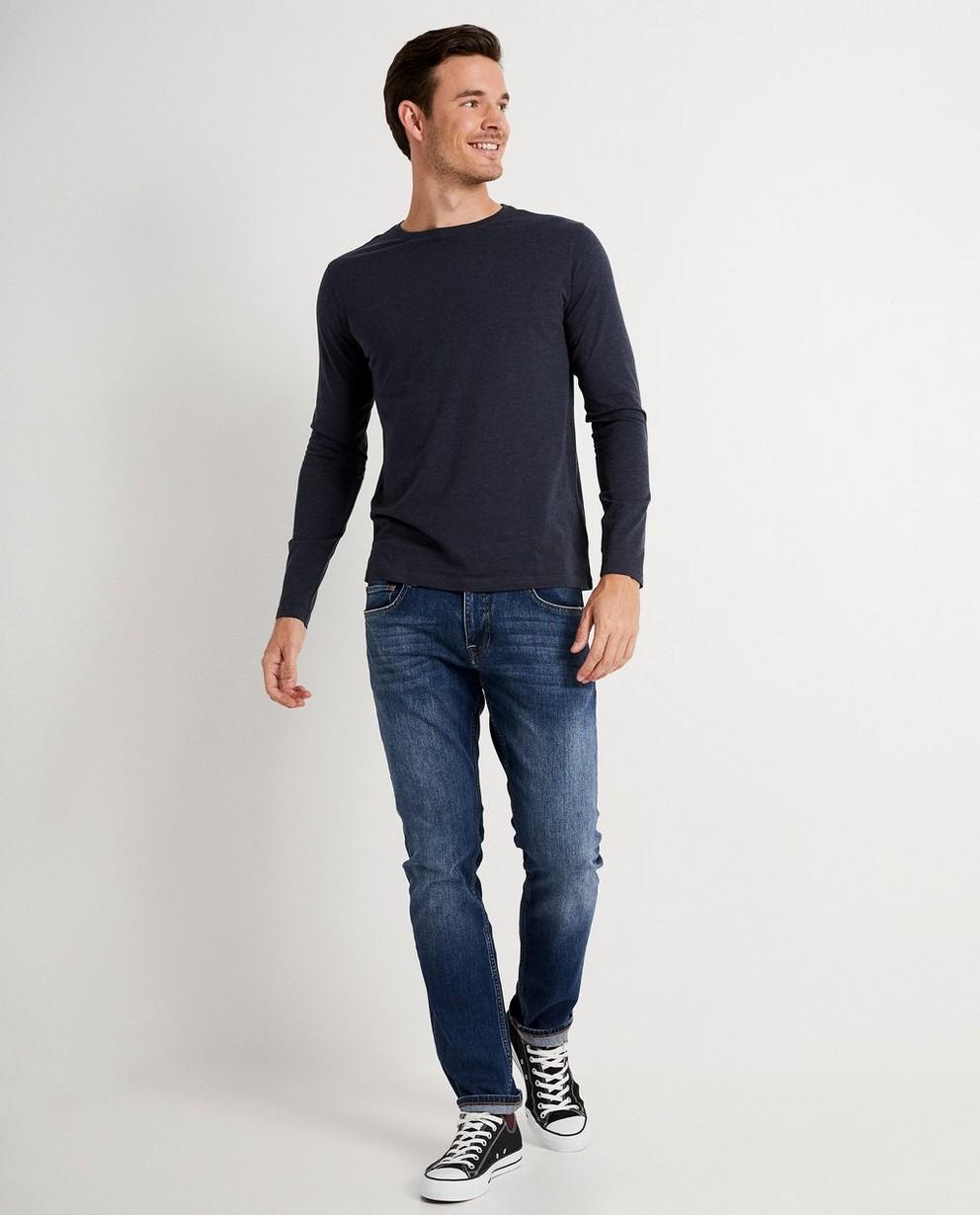 T-shirt à longues manches - uni, en coton bio - JBC