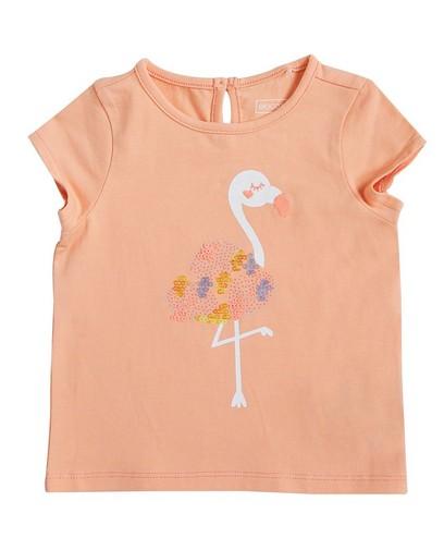 T-Shirt mit Flamingo