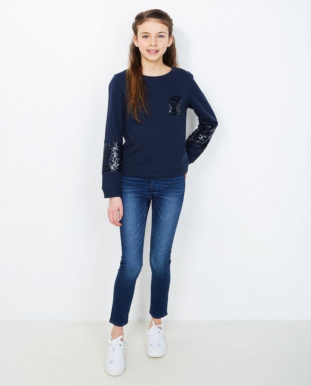 Jeans - BLD - Donkerblauwe jegging