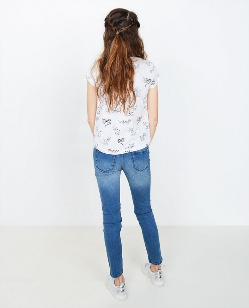 Destroyed skinny jeans - null - JBC