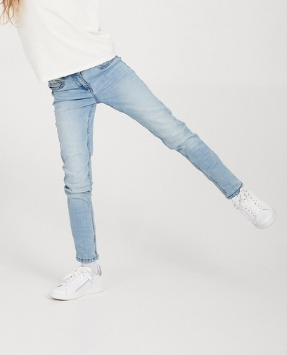Lichtblauwe skinny jeans MARIE