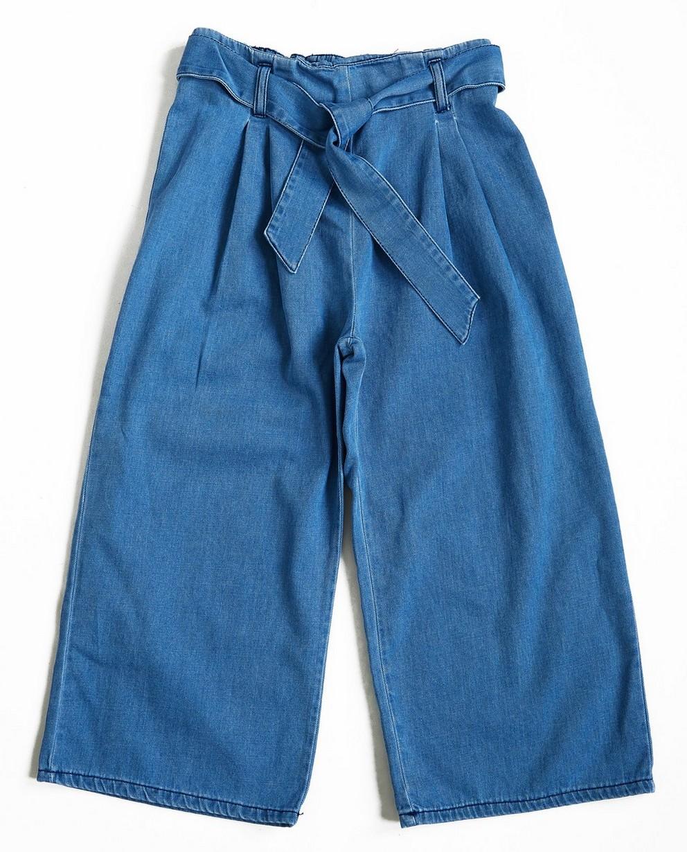 Damen Jeans Culotte Hose Hosenrock weites Bein High Waist Urban Classics TB2367