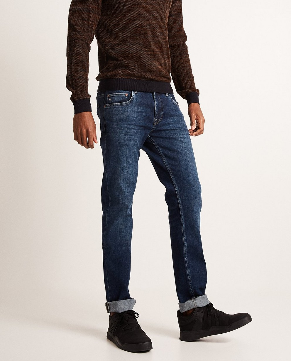 Jeans - navy - Slim fit jeans SMITH