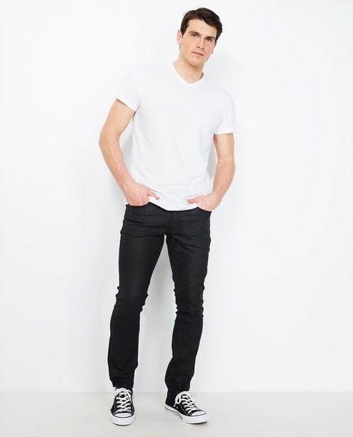 Jeans slim noir - avec revêtement - JBC
