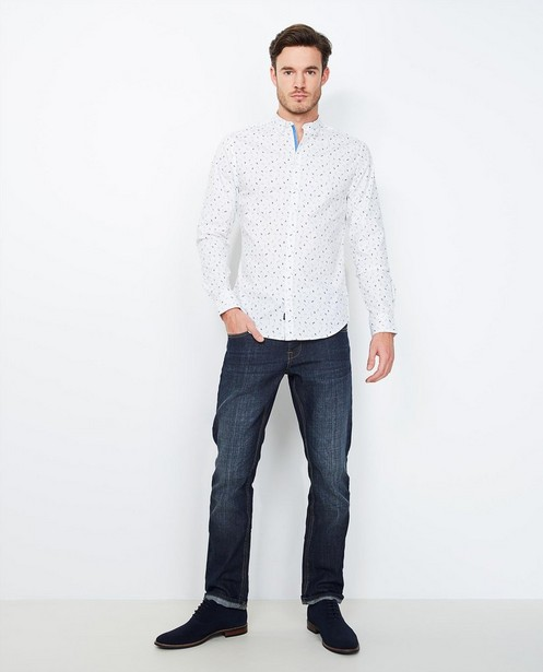 Jeans regular délavé - bleu foncé - JBC