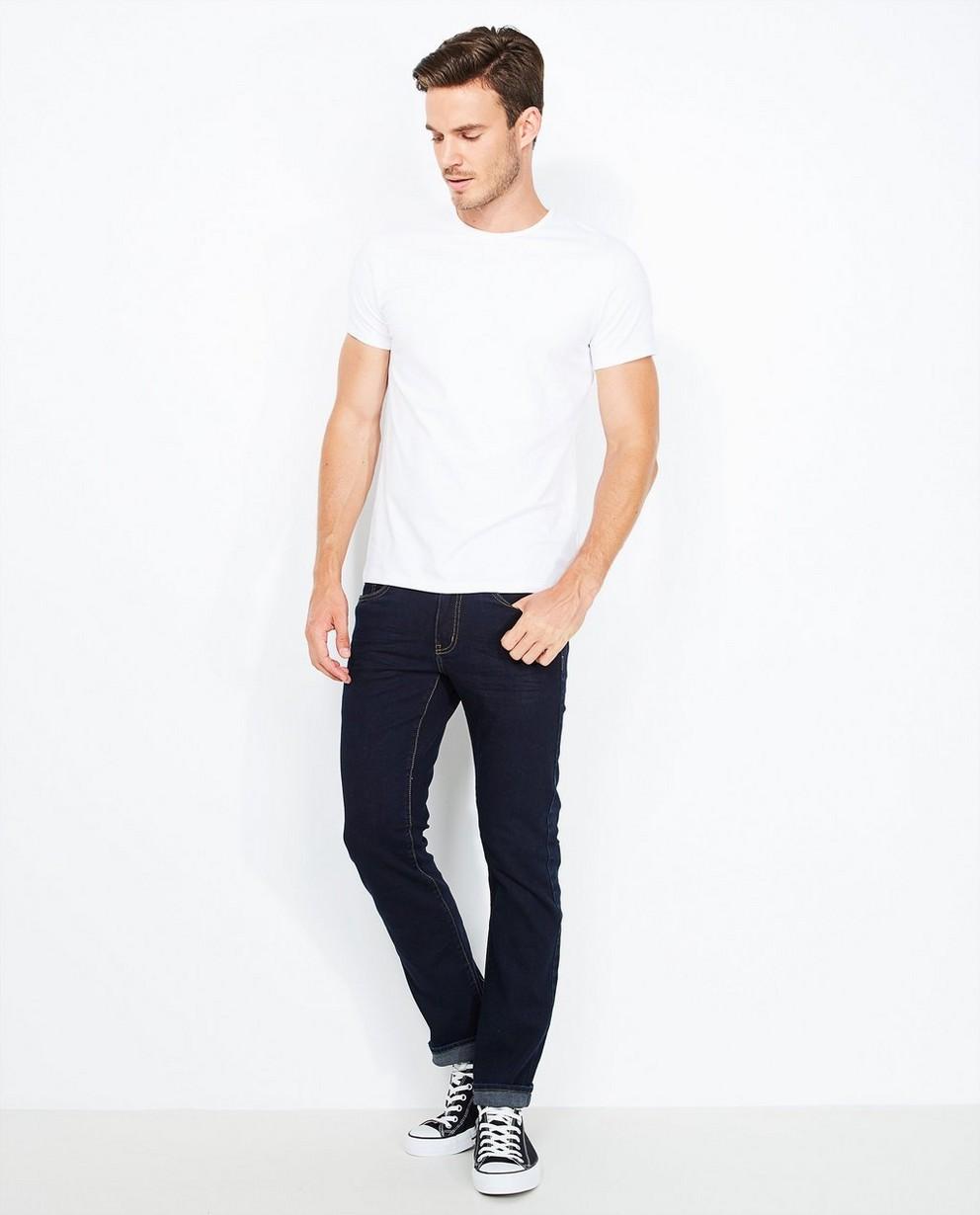 Jeans fitted straight BRANDON - en coton bio - JBC
