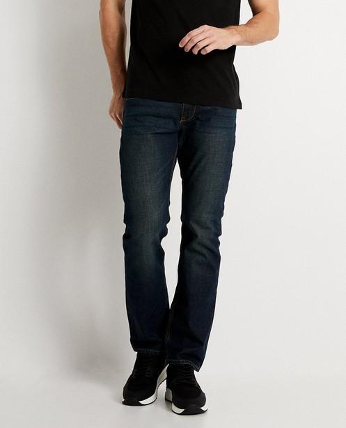 Jeans - navy - Washed regular jeans