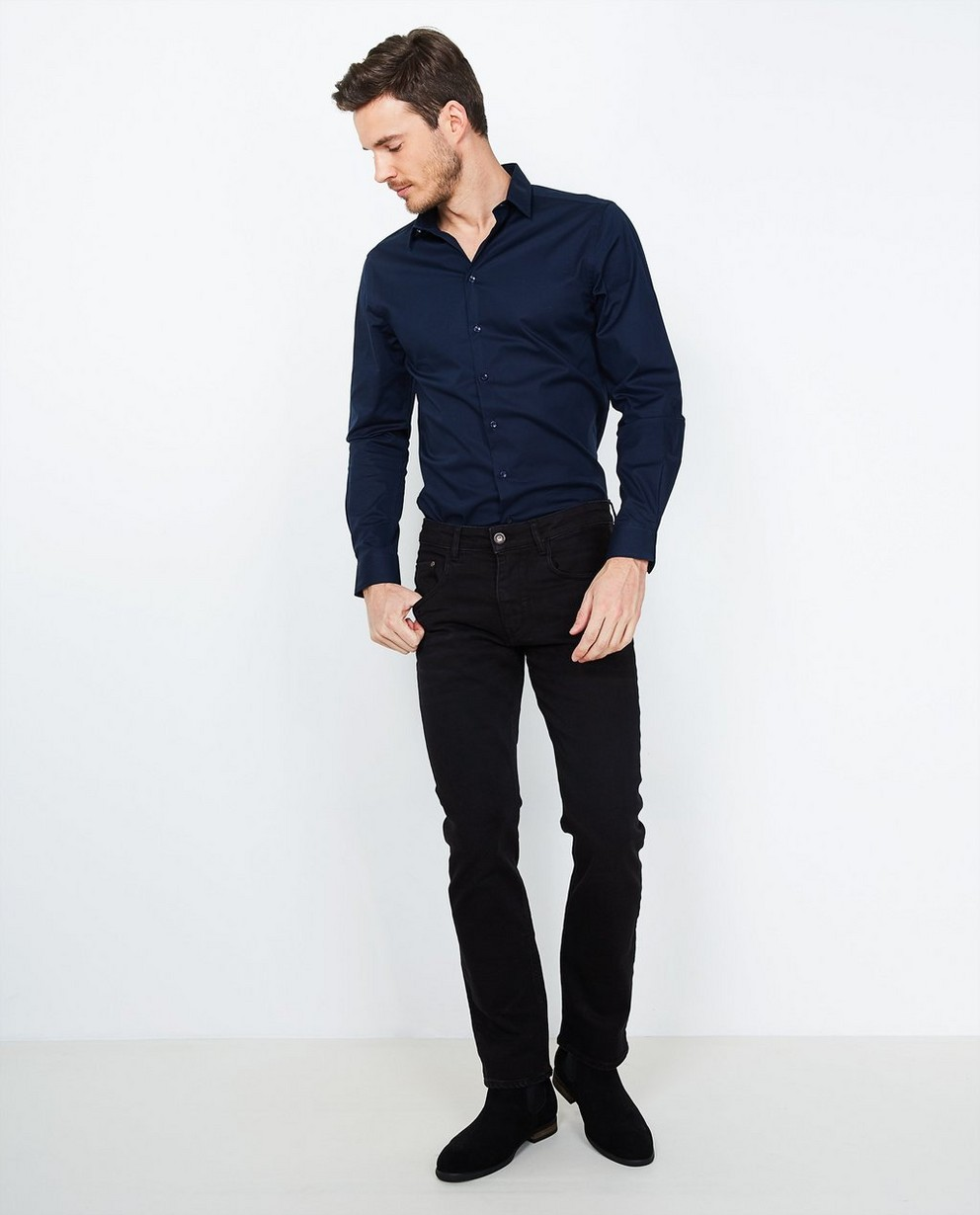Jeans regular RYAN - délavé - JBC
