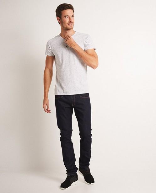 Donkerblauwe jeans SMITH - met slim fit - JBC