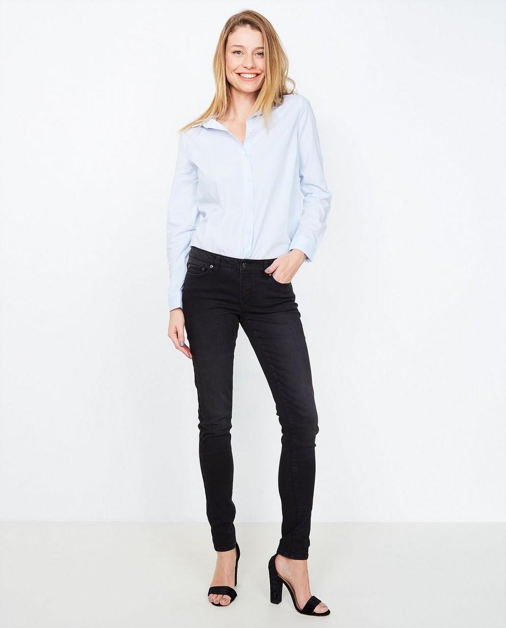 Jeans skinny FAYE - légèrement délavé - JBC