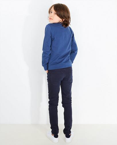 Dunkelblaues Sweatshirt